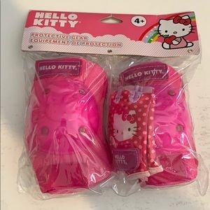 Hello Kitty Girls' Knee and Elbow Protective Gear